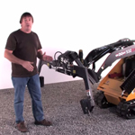 Mini Skid Steer Hardscape Grapple